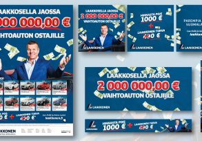 Laakkonen: 2 000 000,00 € to Buyers of Used Cars