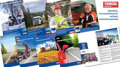 Teboil diesel- ja kevytpolttoöljy sekä voiteluaineet