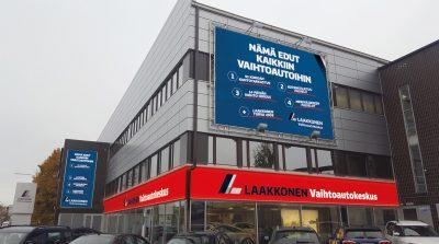 Laakkonen: Vaihtoautokeskusten myymäläilme