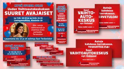 Laakkonen: Oulun Vaihtoautokeskuksen suuret avajaiset