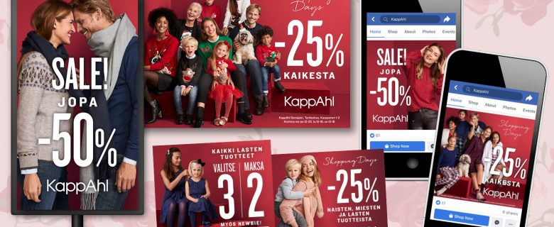 KappAhl: joulukampanjat