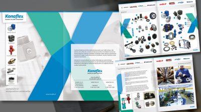 Konaflex: Voimansiirron monipuolinen asiantuntija -esite