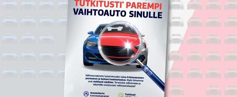 Laakkoselta tutkitusti parempi vaihtoauto sinulle, lehtimainonta