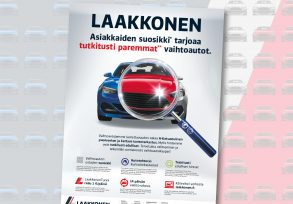Laakkonen: Customers' Favourite, print