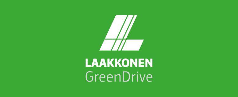 Laakkonen: GreenDriven visuaalinen ilme
