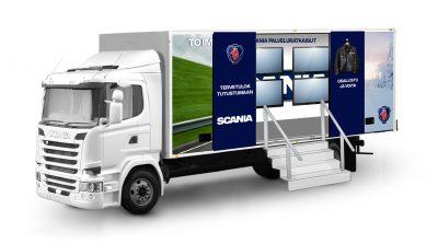 Scania: Toimintavarmuutta ympäri vuoden -kiertuerekka