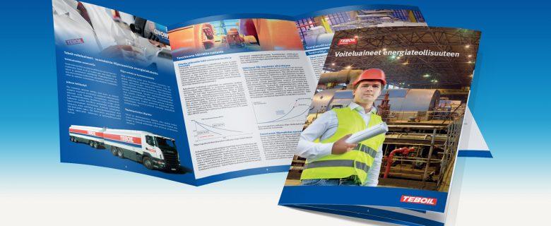 Teboil: Voiteluaineet energiateollisuuteen -esite