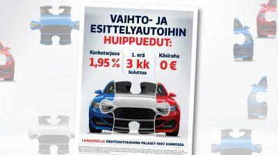 Laakkonen: Vaihtoautokaupan palaset kunnossa, Print