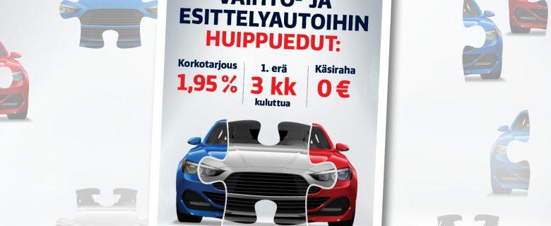Laakkonen: Vaihtoautokaupan palaset kunnossa, lehtimainonta