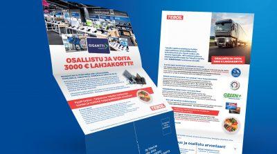 Teboil: Heavy Duty Diesel Direct Mailer 2020