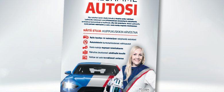 Laakkonen: Haluamme autosi, lehtimainonta