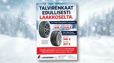 Laakkonen: Winter Tyres, Print