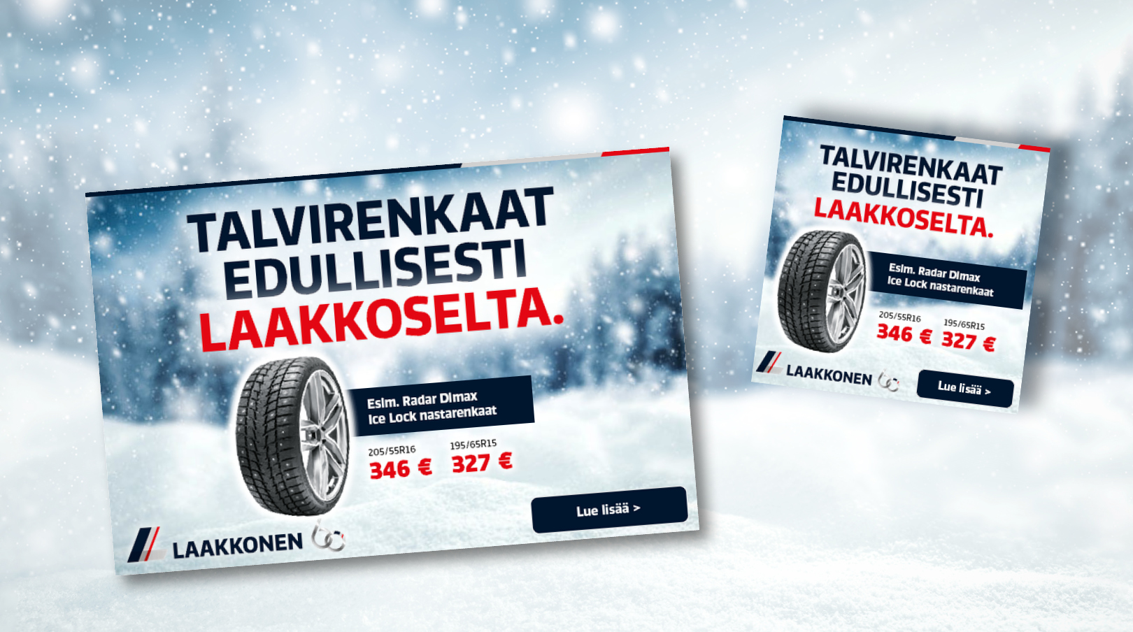 Laakkonen: Winter Tyres, Web