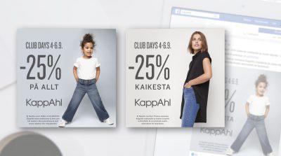 KappAhl: Facebook-mainontaa