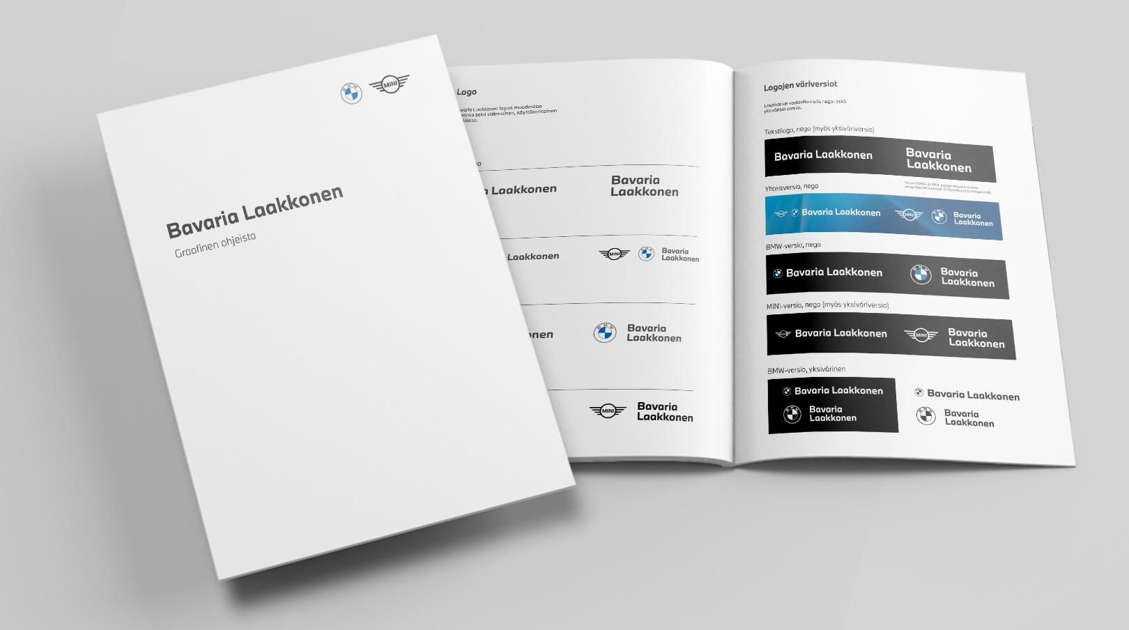 Bavaria Laakkonen: graafinen ohjeisto