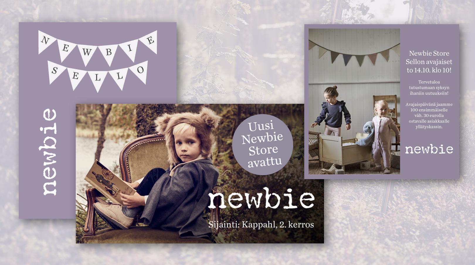 Newbie: Sellon myymälän avajaiset